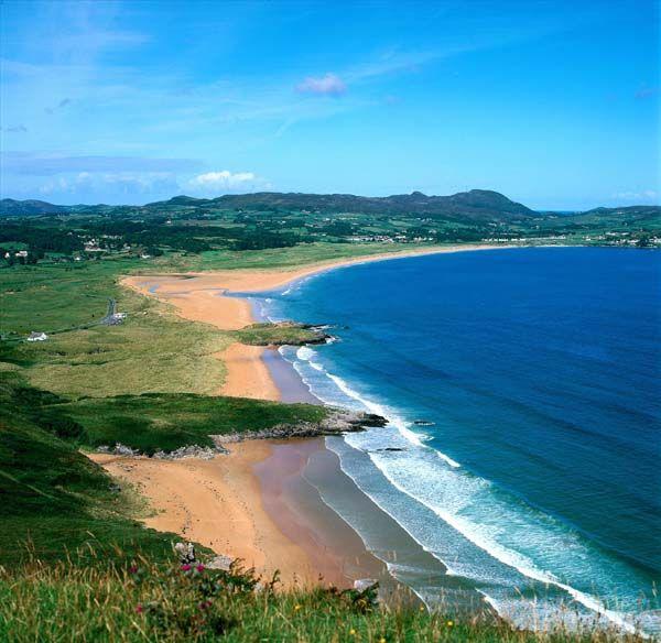Warden Beach, Portsalon, Donegal county, Ulster, Ireland photo ...
