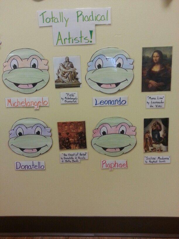 Ninja turtles artist