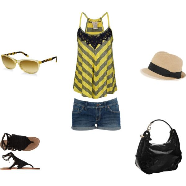 Casual Summer, created by twinb1021 on Polyvore