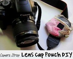 I never lose my lens cap. Protecting your lens is so important!! But a handy little pouch like this is a lot safer than my back pocket!