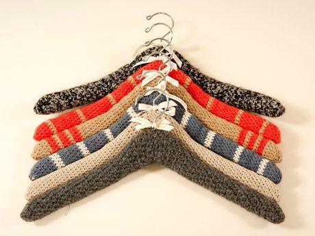 knit hangers