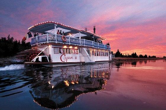 Gambling riverboat