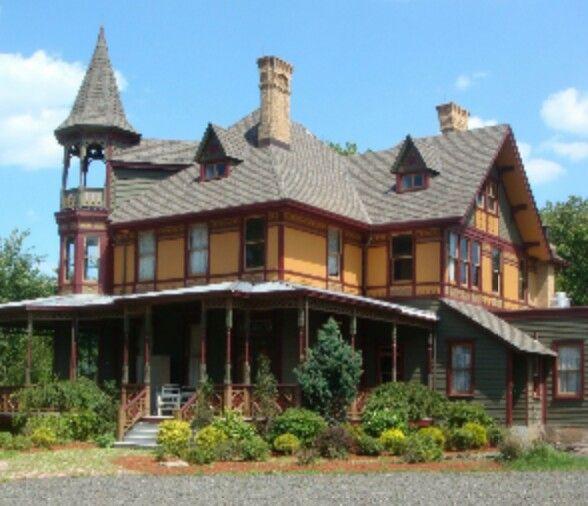 The Kreischer Mansion In Staten Island