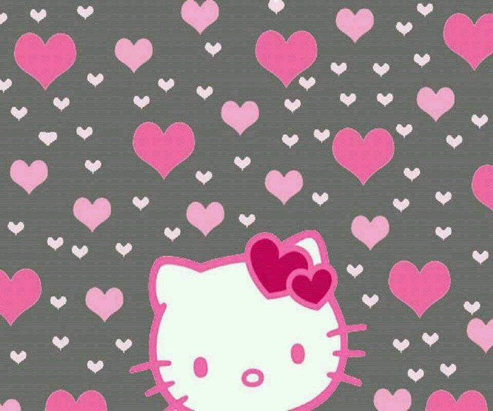 cute pink hello kitty wallpaper - photo #7