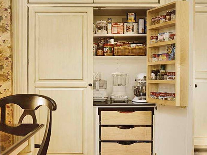 dutch pantry   cabinet ideas   Pinterest