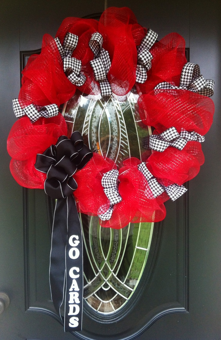 University of Louisville Wreath