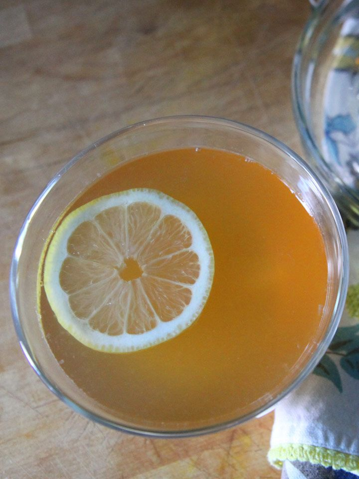 The Hot Tea Toddy - a twist on the classic hot toddy with peppermint ...