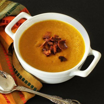 Spicy Pumpkin Soup Recipe | Autumn and Fall | Pinterest