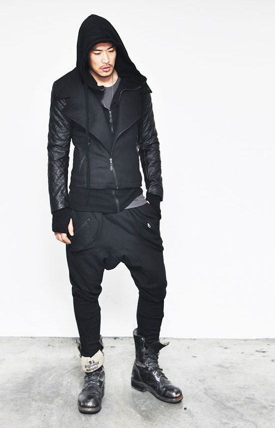 Hoodie Bandana Male Fashion