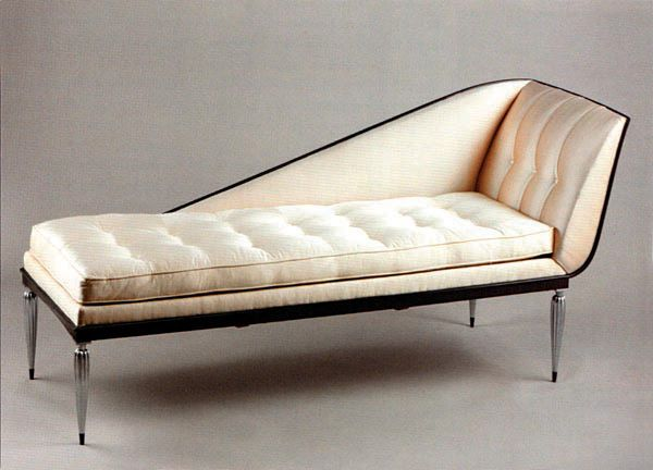 Art deco inspired products i love pinterest for Art deco chaise longue