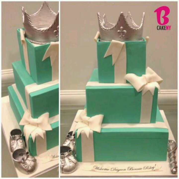 baby shower cake tiffany blue party tiffany and co baby pinte