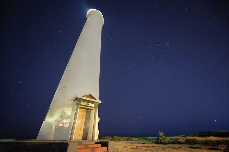 Barbers Point lighthouse, Kapolei, Oahu, Hawaii.