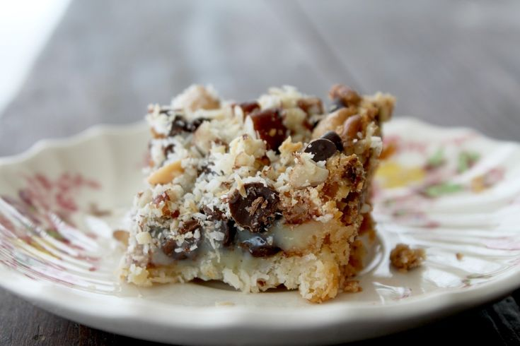 Gluten free 7 layer bars | Deliciousness | Pinterest