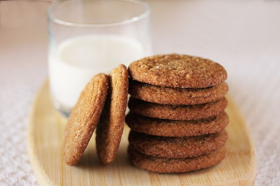 Gingersnap cookies... I just made these. I must say they are quite ...