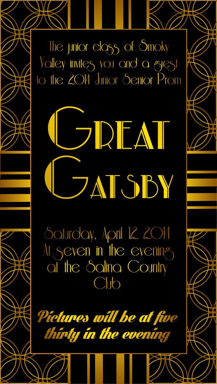 1920S Themed Birthday Invitations with beautiful invitation template