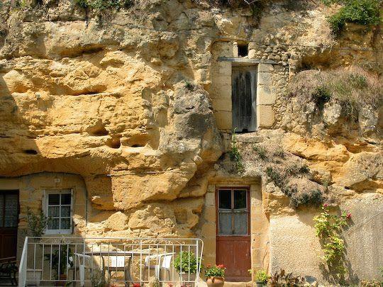 Villaines les rochers troglodytes caves pinterest - Villaines les rochers vannerie ...