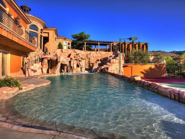 Backyard Lazy River Pool :  by Pioneer Family Pools on Beautiful Backyards & Backyard Landsca