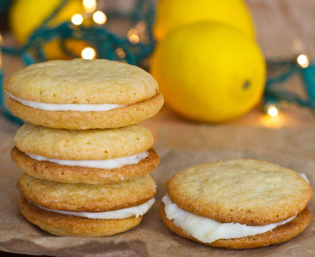 Lemon Sandwich Cookies - Betsy Life