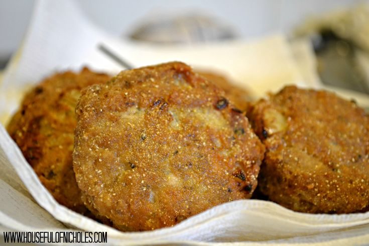 Salmon Croquettes | I Love Food | Pinterest