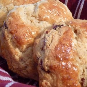 Maple Bacon Biscuits from the Huckleberry Cafe