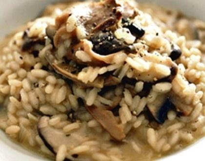 Wild Mushroom Risotto | Yummy Foods! | Pinterest