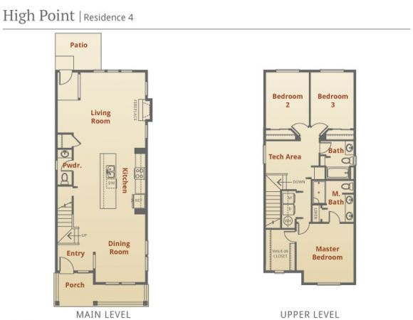 Narrow lot home fabulous floor plans pinterest - One story houses narrow plots ...