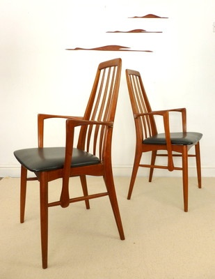 Danish Modern Furniture on Niels Koefoeds Eva Chairs   Danish Modern   Furniture   Design