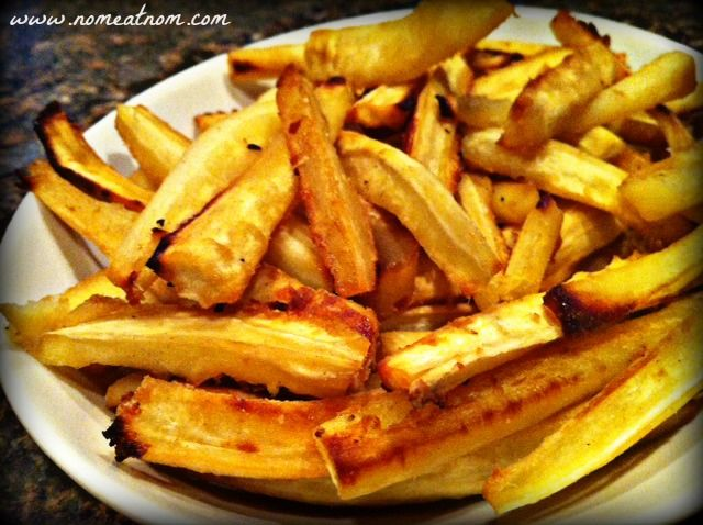 Honey Ginger Parsnip Fries | Recipes I want to try | Pinterest
