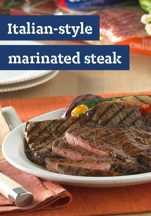 Italian-Style Marinated Steak — Serve this steak recipe with smart ...