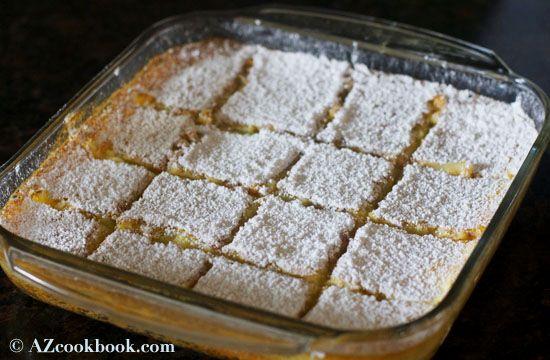 AZ Cookbook - Food From Azerbaijan & Beyond » Classic Lemon Bars
