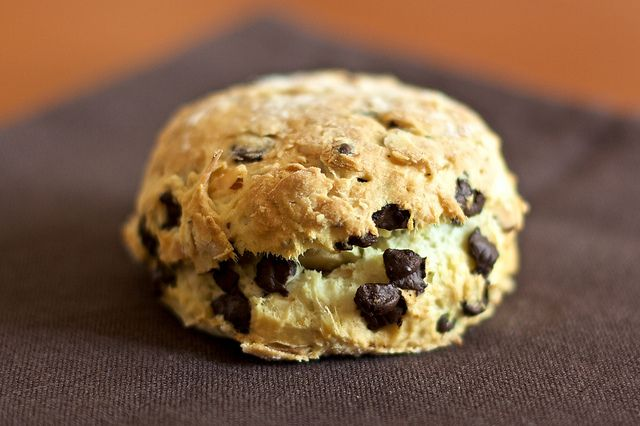Coconut, hazelnut and chocolate scones | Recipes | Pinterest