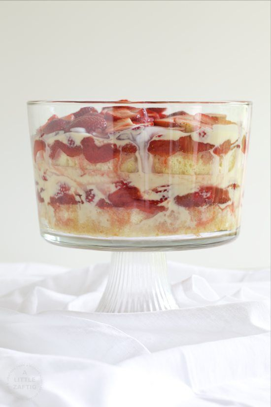 English Summer Strawberry Trifle - A Little Zaftig- Could make my own ...