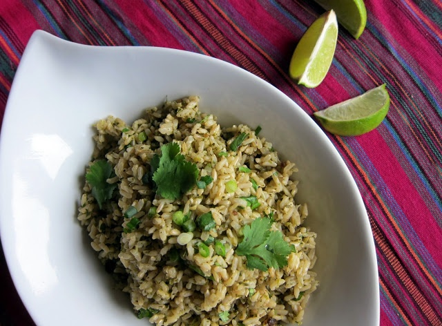 Mexican Green Rice | Healthy Recipes | Pinterest