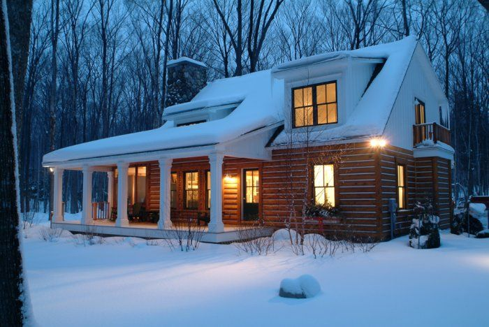 Josies cabin harbor springs mi log cabins cottages Log cabin architects