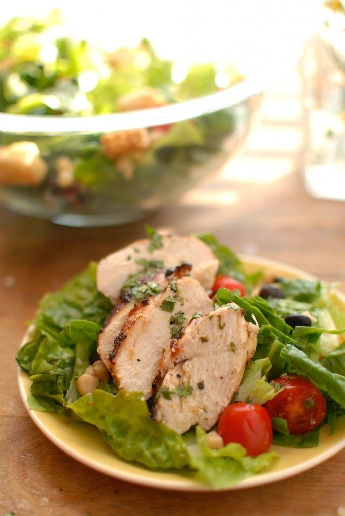 Cilantro Lime Grilled Chicken Salad | Salads | Pinterest