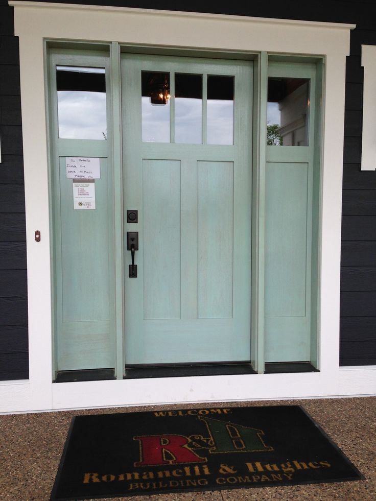 Robins Blue Front Door For The Home Pinterest