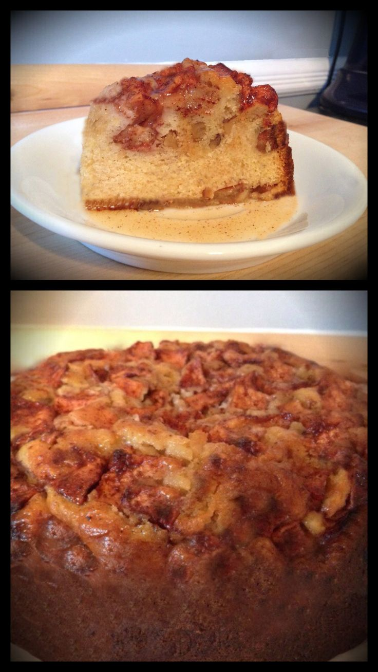 Spice Rum Apple Walnut Cake | Simply Bliss Cakes | Pinterest