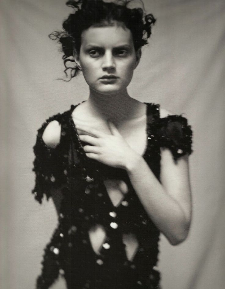 by paolo roversi for yohji yamamoto spring | A Piece of Work