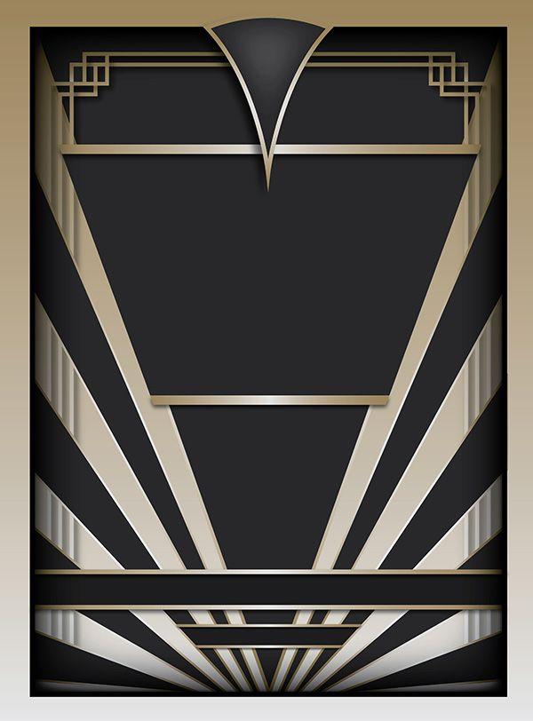Art Deco Graphic Design Google Search Art Deco Great Gatsby R