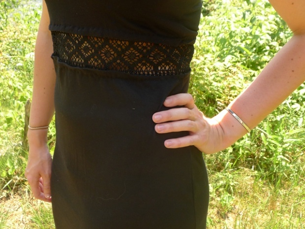 DIY CROCHET INSET DRESS