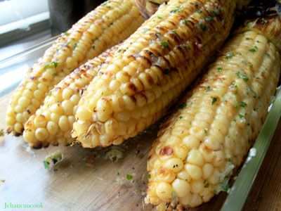 Parmesan Roasted Corn On The Cob Recipe — Dishmaps