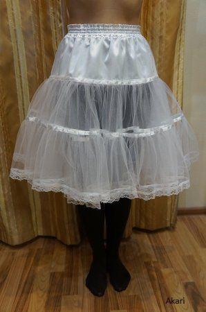 Как пошить пышную юбку мастер класс