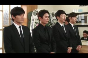 Characters Kim Do Jin, Choi Yoon, Im Tae San and Lee Jung Rok in A ...