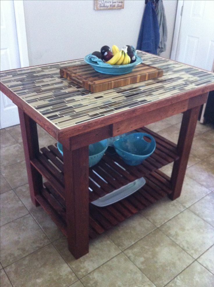 Diy Kitchen Island Diy Furniture And Home Decor Pinterest