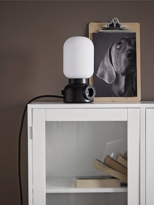 plug lamp, form us with love, ataljé lyktan via http://www.scandinavianlovesong.com/