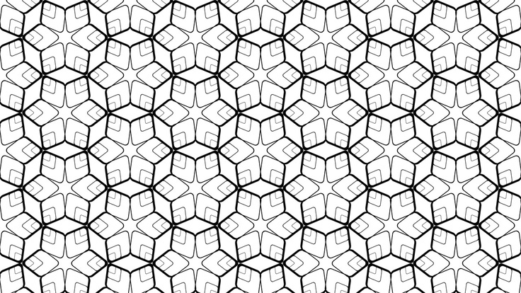 blackxwhite   bwHexagonal Pattern Vector