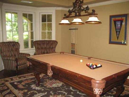 pool table in living room new house ideas pinterest