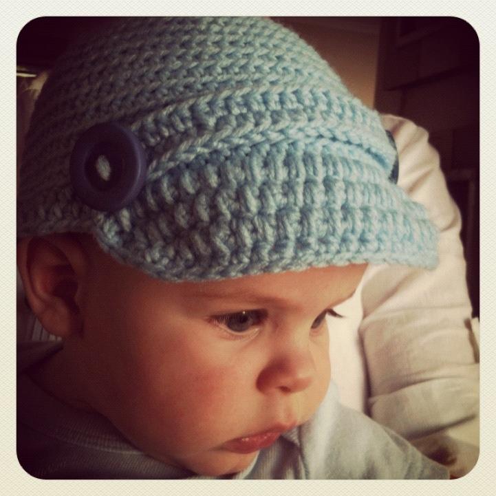 Crochet peak cap crafty ideas pinterest