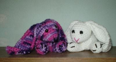 Amigurumi Floppy Bunny Pattern : Snuggle Bunny Amigurumi = free pattern Time for Crochet ...