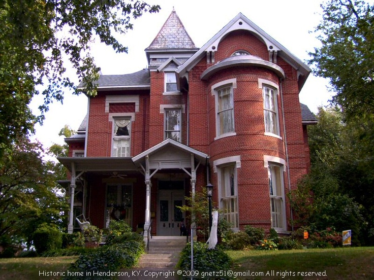 Historic Home In Henderson Kentucky My Old Kentucky